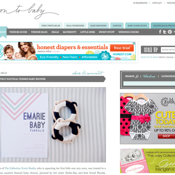 Featured on On To Baby.