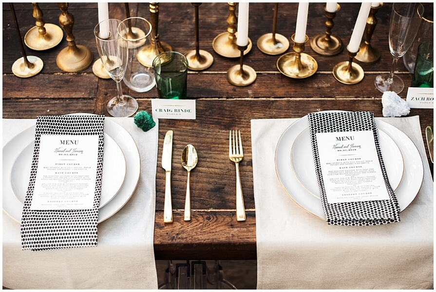 Styling your wedding around your stationery: The Chronicle Suite ...