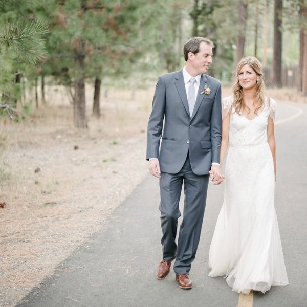 Jenna and Morgan.  Lake Tahoe Wedding