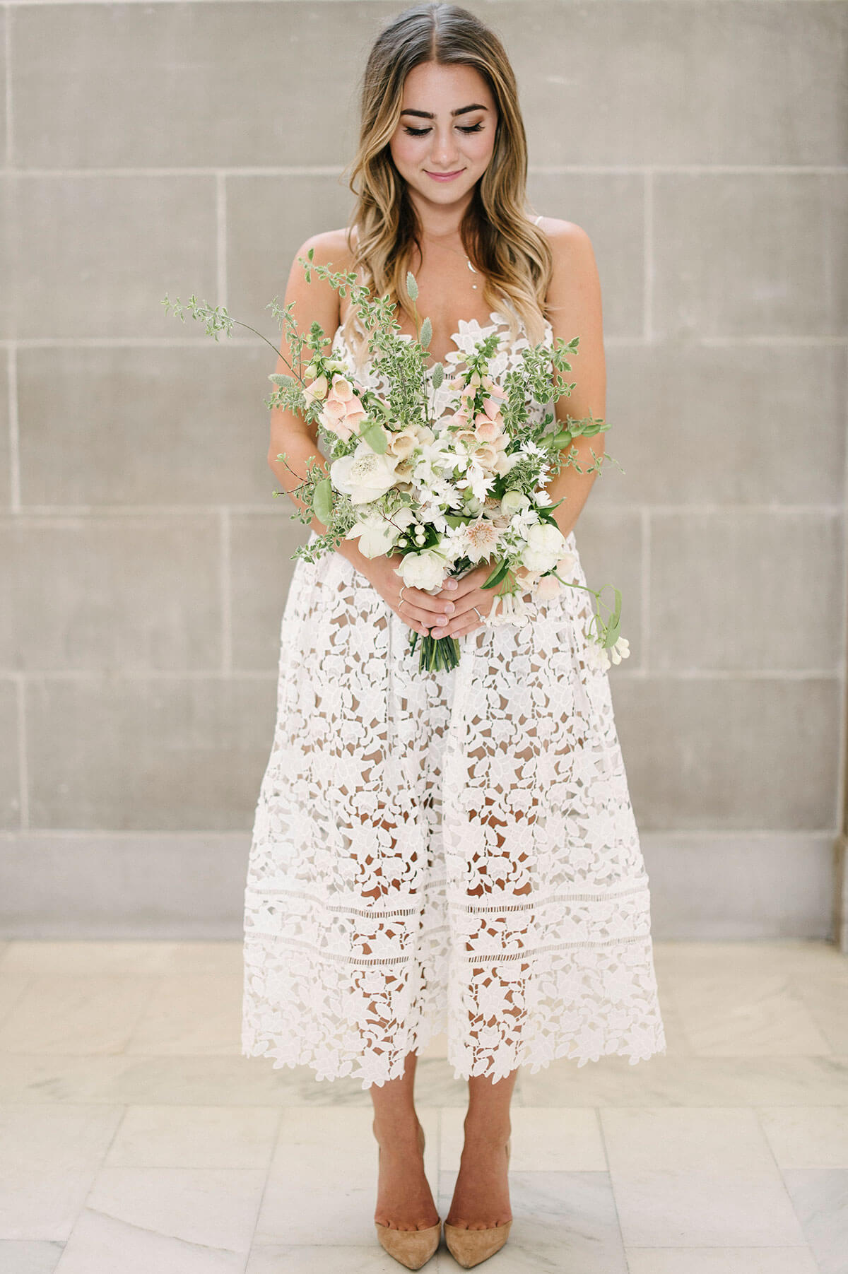 Ten city hall wedding tips melanie duerkopp for Bridal dress for civil wedding