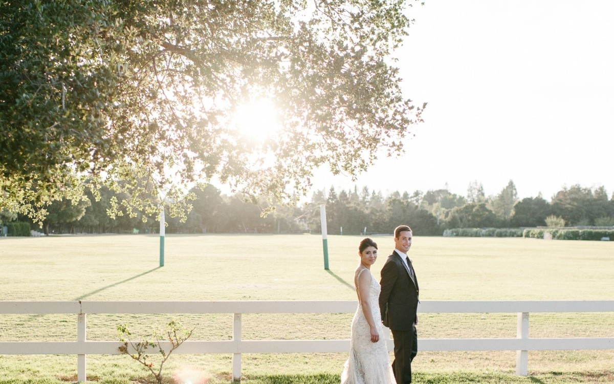 Fereshta & Mark's Romantic Menlo Park Wedding.