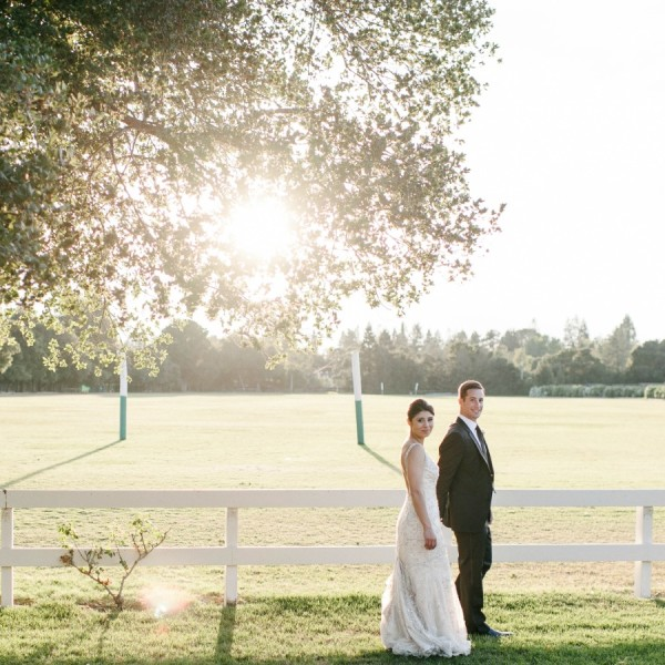 Fereshta & Mark's Romantic Menlo Park Wedding.