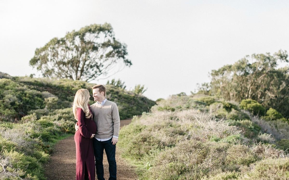 Romantic Outdoor Maternity Shoot