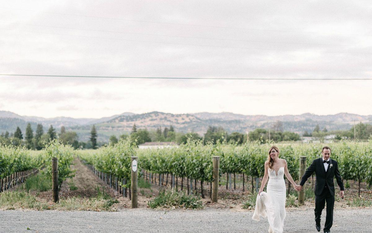 Allie & Tim's Romantic Winery Wedding