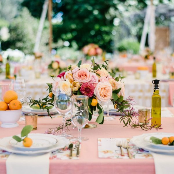 Desiree & Nick's Colorful Tented Sonoma Wedding