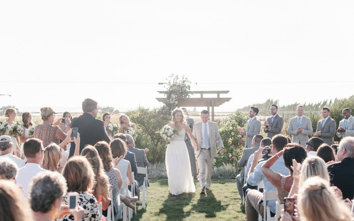 Rustic Northern California Farm Wedding
