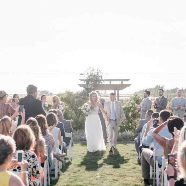 Rustic Northern California Farm Wedding
