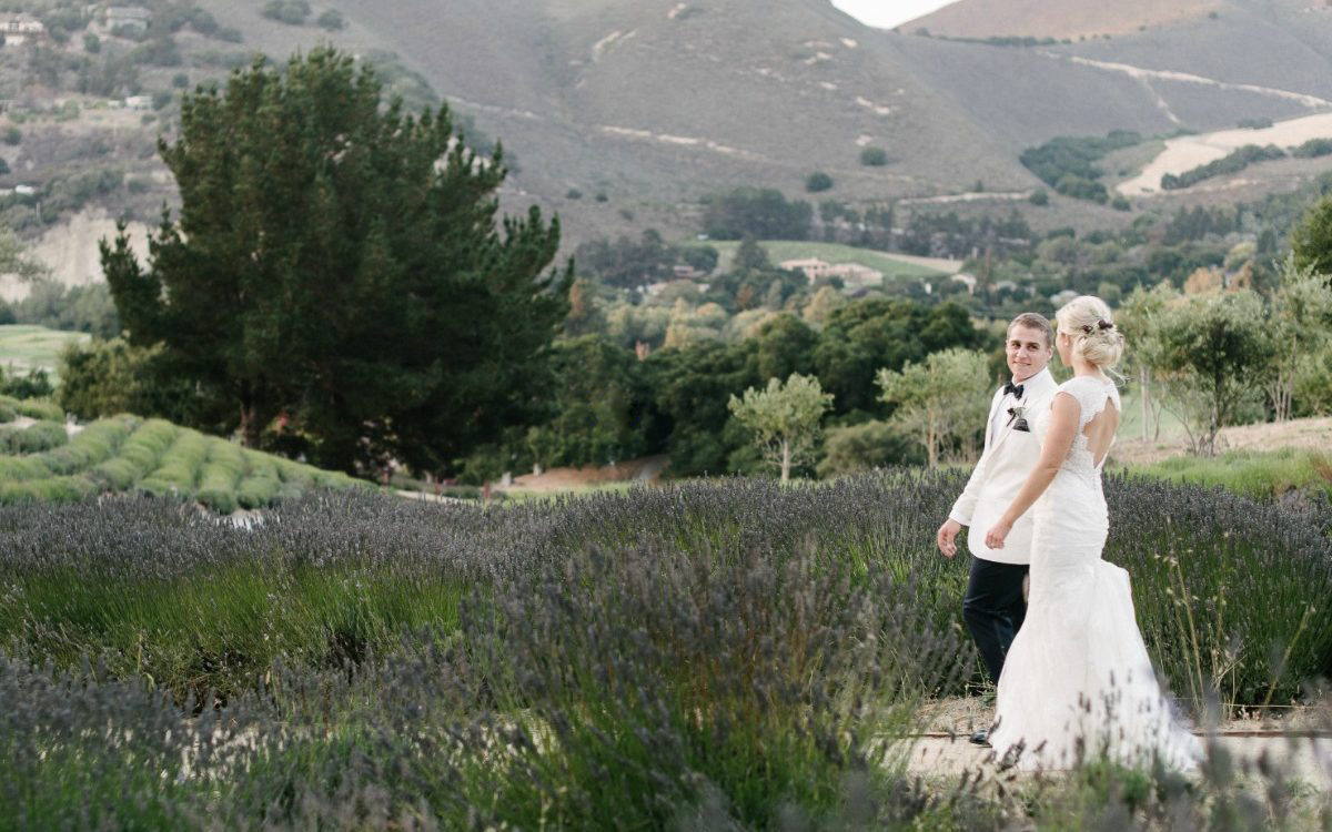 Romantic Carmel Valley Ranch Wedding