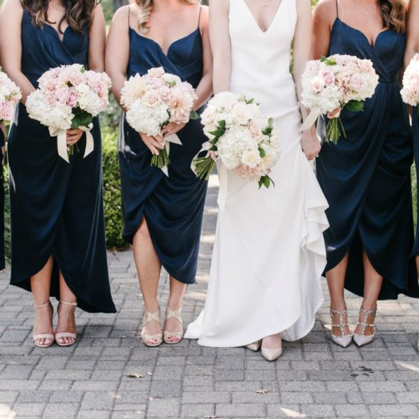 Navy Blue & Blush Sonoma Wedding | Melanie Duerkopp Photography