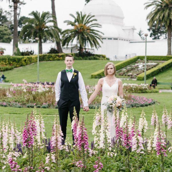 Colorful Golden Gate Park Wedding | Melanie Duerkopp Photography
