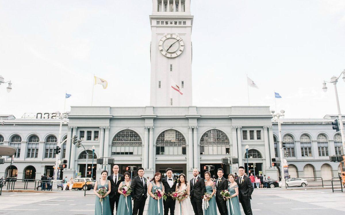 San Francisco Ferry Building Wedding - Stephanie & Tim
